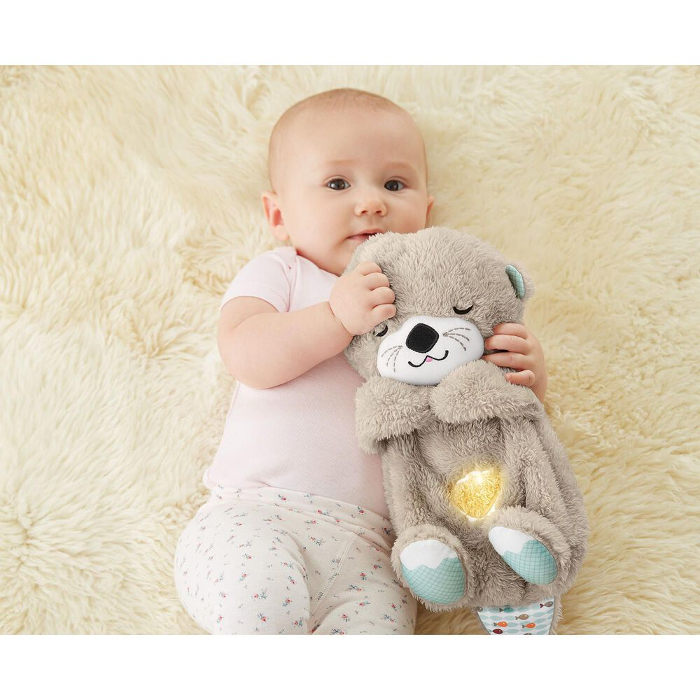 Fisher-Price Soothe and Snuggle Otter Soother Toy, , large