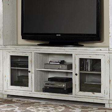 "Hickory Point Willow 68"" Console in Distressed White, , large"