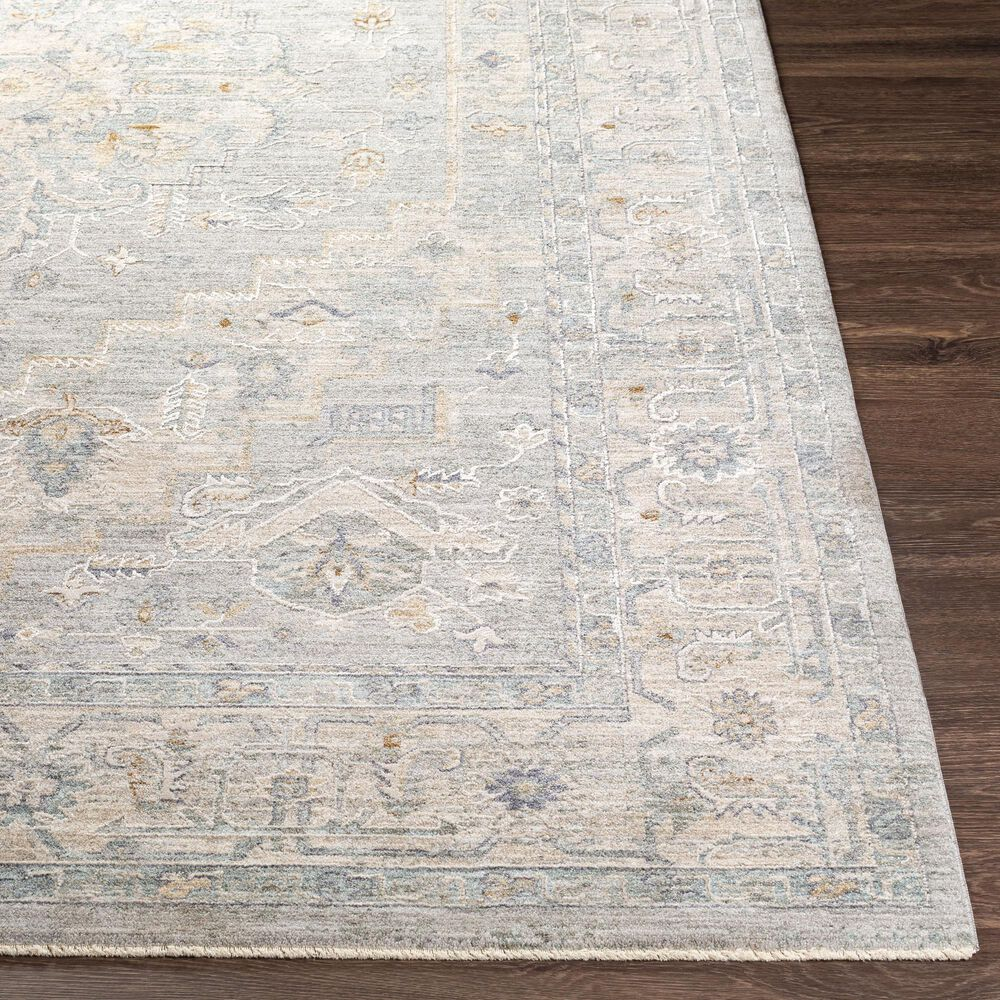 Surya Avant Garde 10' x 14' Gray, Beige and Denim Area Rug, , large