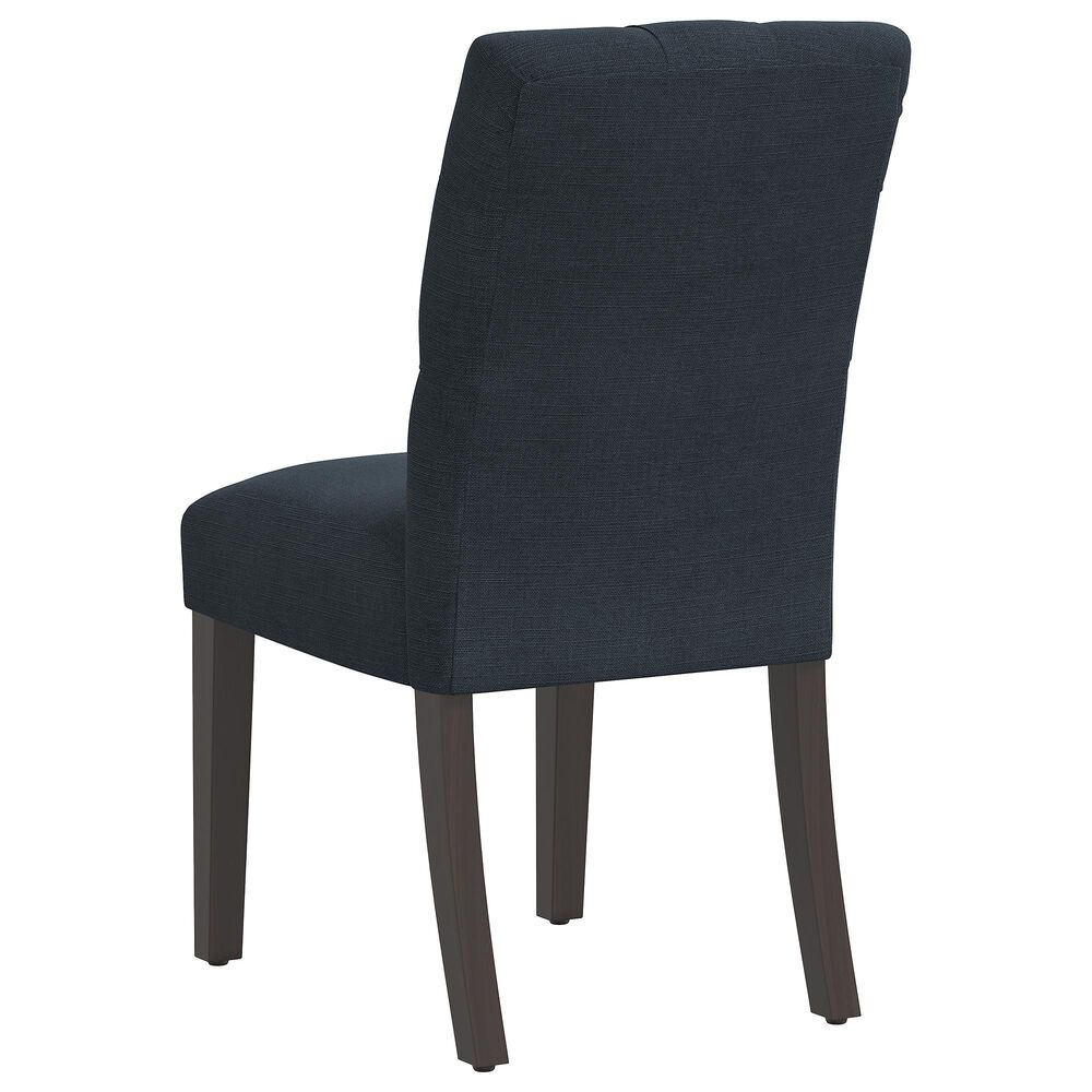 Skyline Furniture Dining Chair in Linen Navy, , large