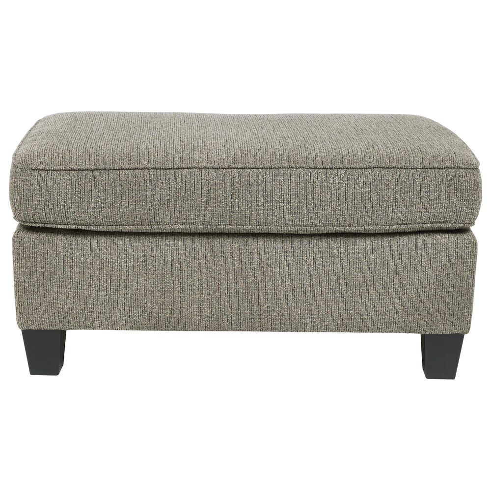 Signature Design by Ashley Barnesley Ottoman in Platinum, , large