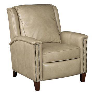 Hooker Furniture Empyrean Tweed Manual Recliner Chair in Beige, , large