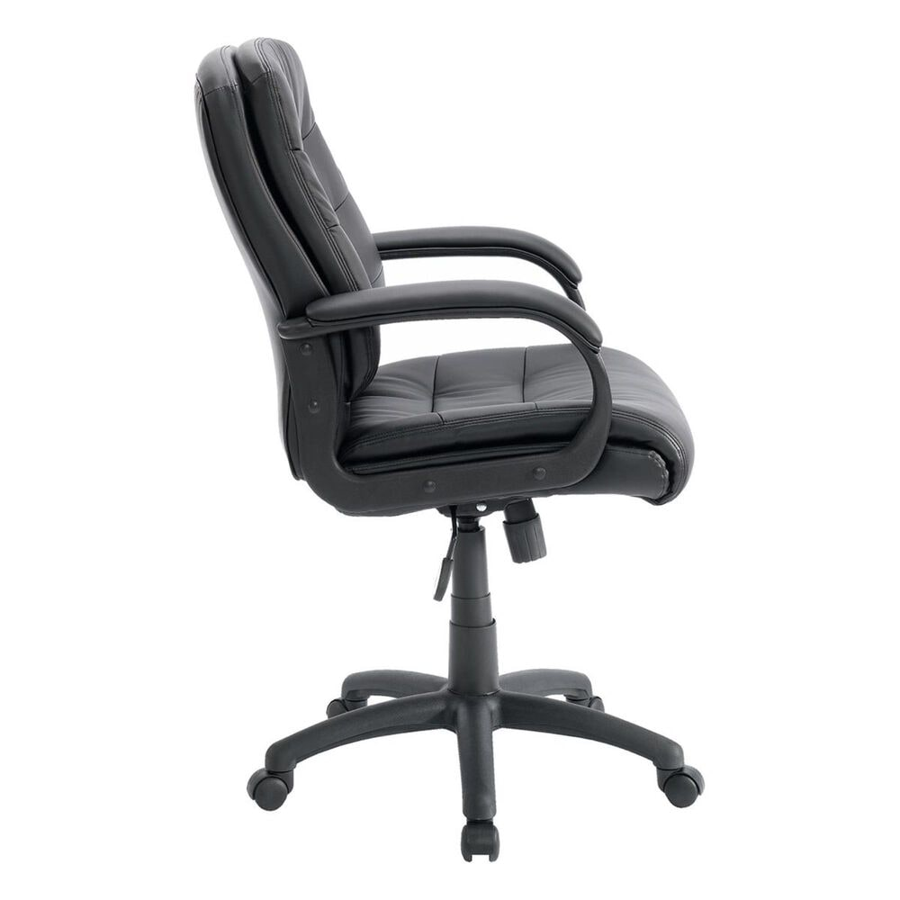 Studio Edge Gruga Duraplush Managers Office Chair in Black , , large