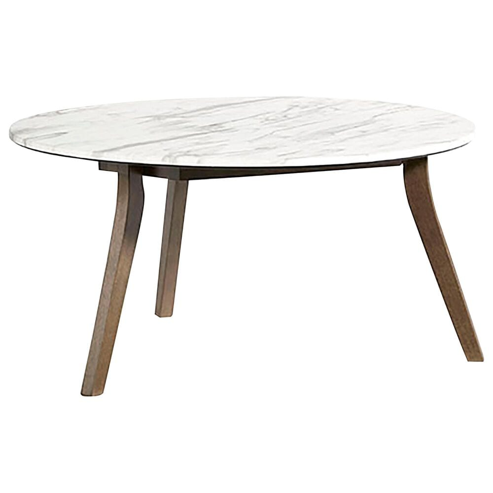 Tiddal Home Pixie Cocktail Table in Domoni White and Honey, , large