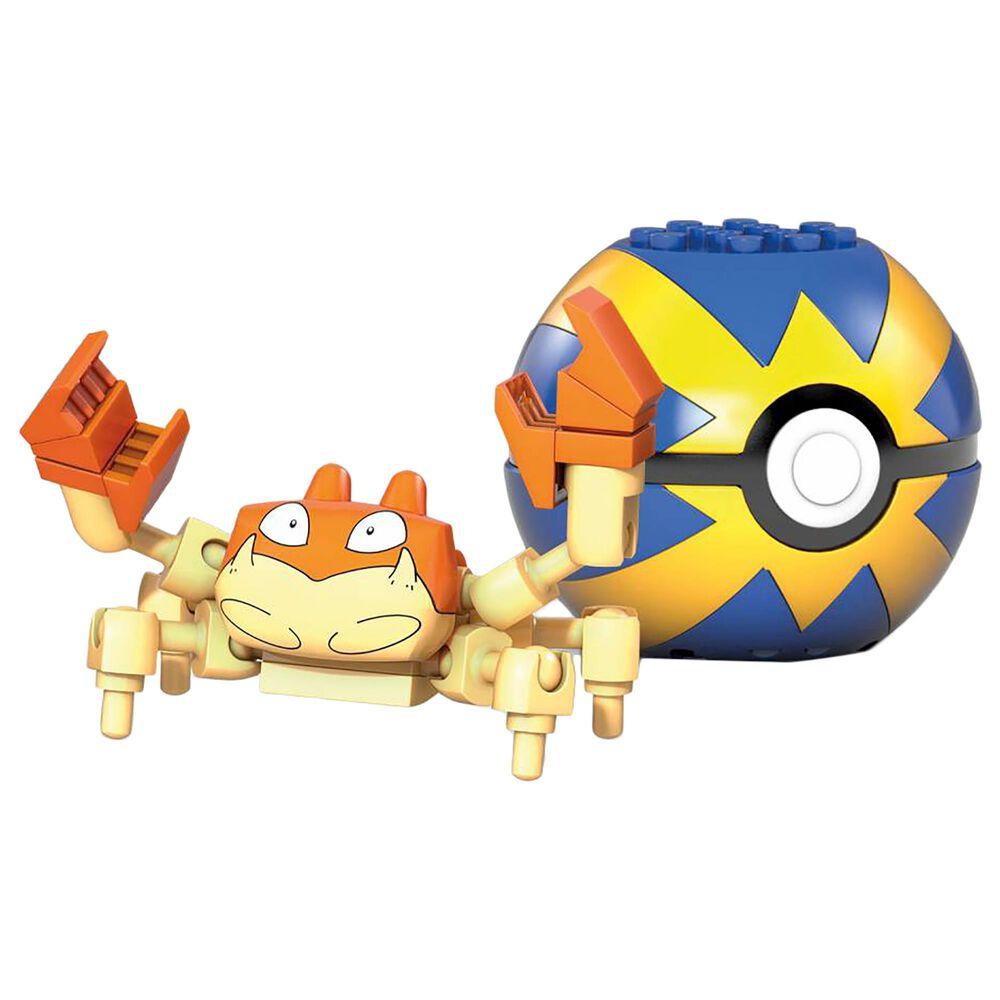 Mega Construx Pokemon Krabby Building Set, , large