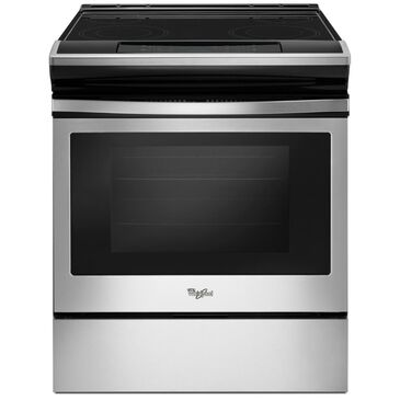 Whirlpool 4.8 Cu. Ft. Slide-In Electric Range with Ceramic Top in Stainless Steel, , large