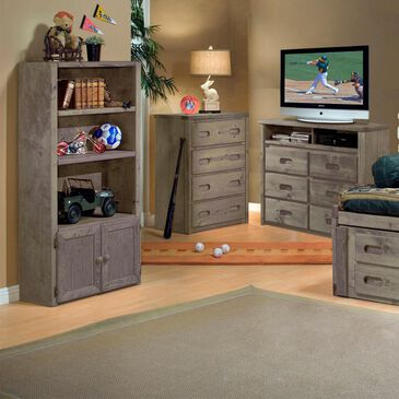 Timber Point Bunkhouse Cheyenne 4 Drawer Chest in Driftwood, , large