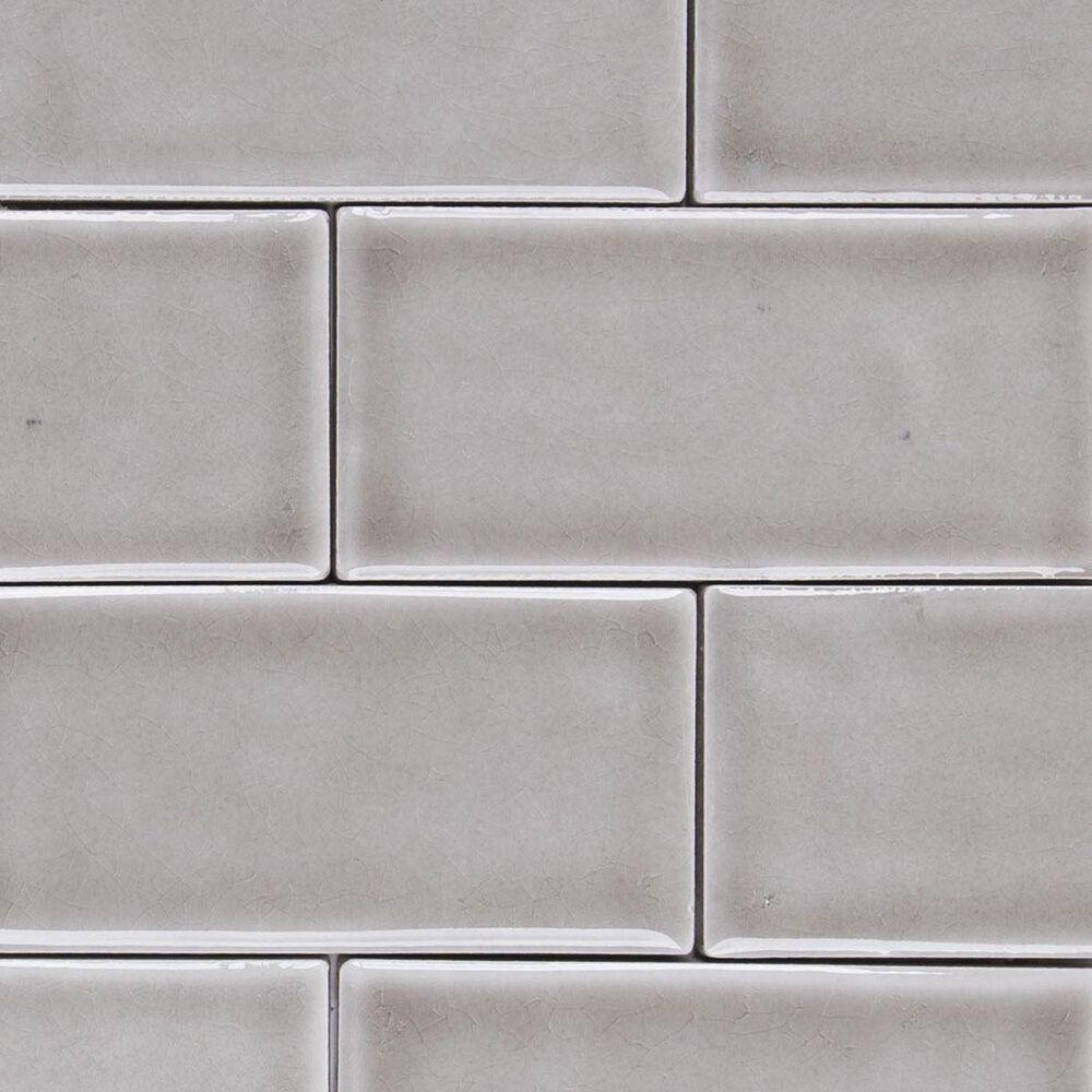 "Soci Chateau Brick Dove Grey 12"" x 12"" Ceramic Mosaic Sheet, , large"