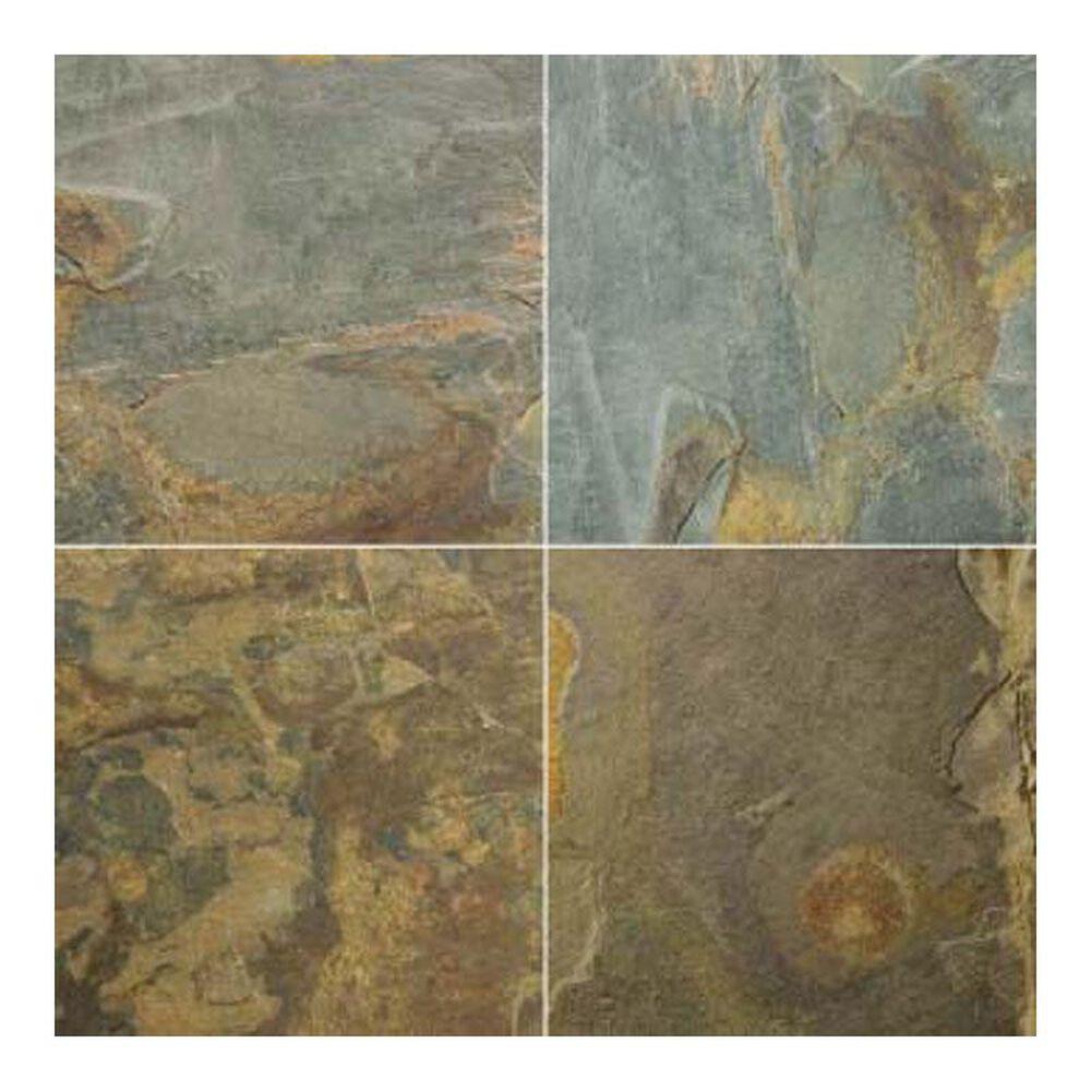 """Emser Slate Rustic Gold 16"""" x 16"""" Cleft Natural Stone Tile, , large"""