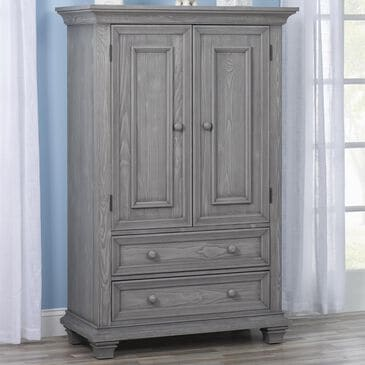 Oxford Baby Westport Armoire in Dusk Gray, , large