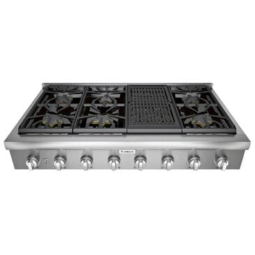 "Thermador 48"" Professional Rangetop in Stainless Steel, , large"