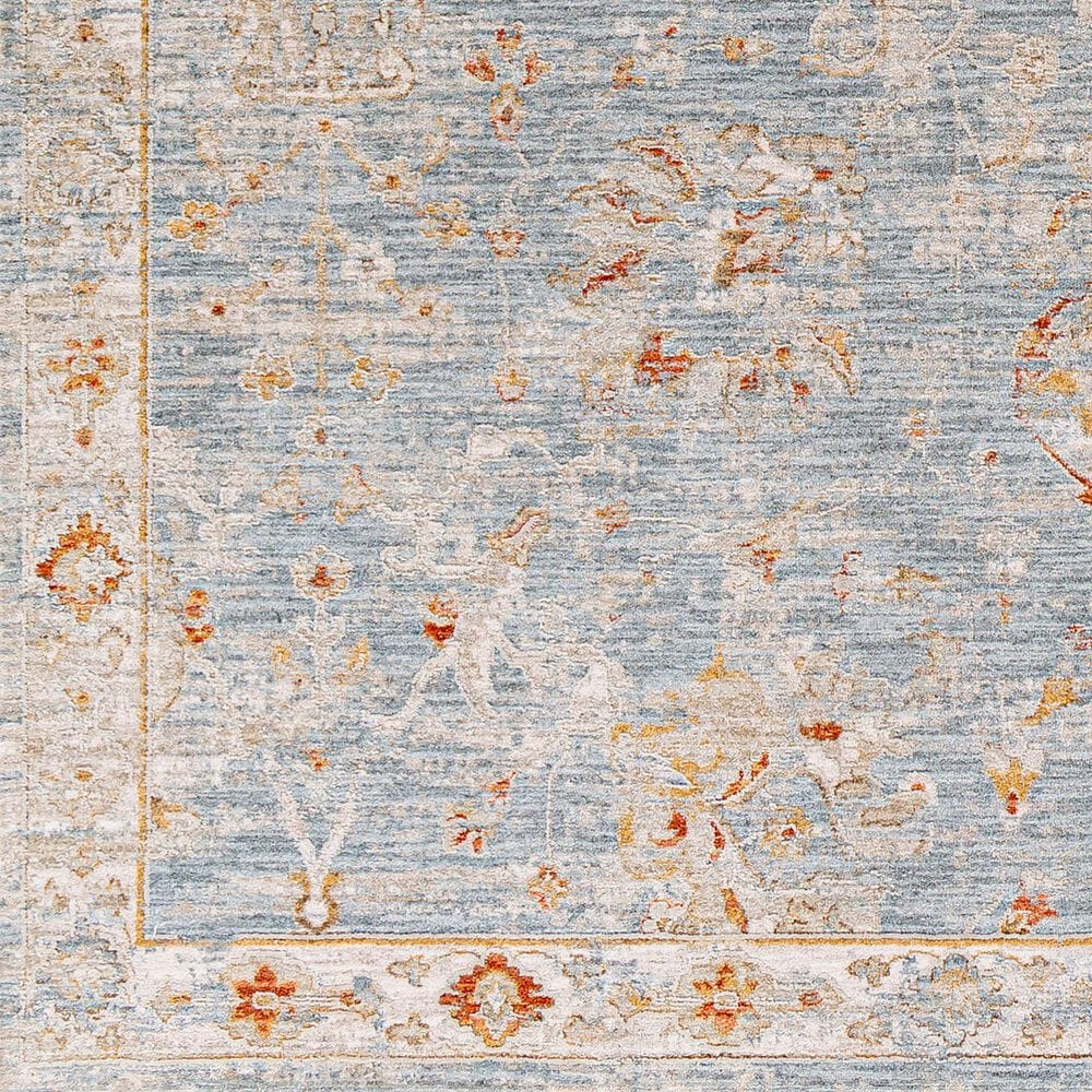 "Surya Avant Garde 2'7"" x 10' Orange, Blue and Beige Runner, , large"