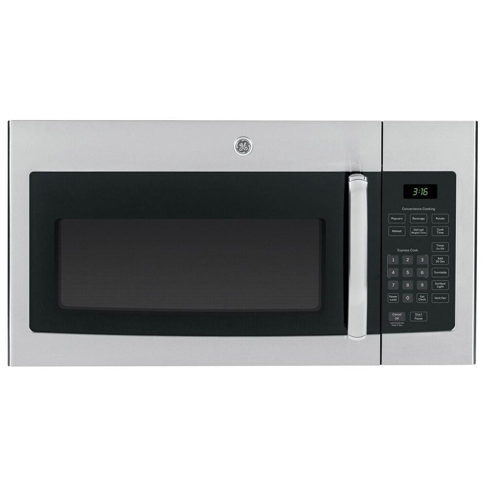 GE Appliances 1.6 Cu. Ft. Over-the-Range Microwave with 1000 Watts in Stainless Steel, , large
