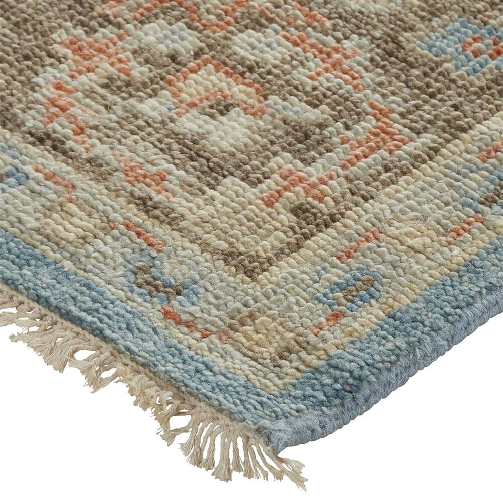Feizy Rugs Beall 2' x 3' Blue and Brown Area Rug, , large