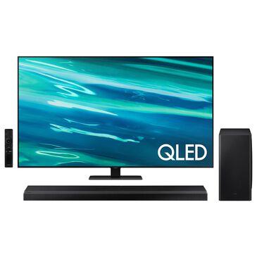 "Samsung 65"" Q80A Class 4K QLED UHD - Smart TV with 3.1.2 Channel Soundbar System, , large"