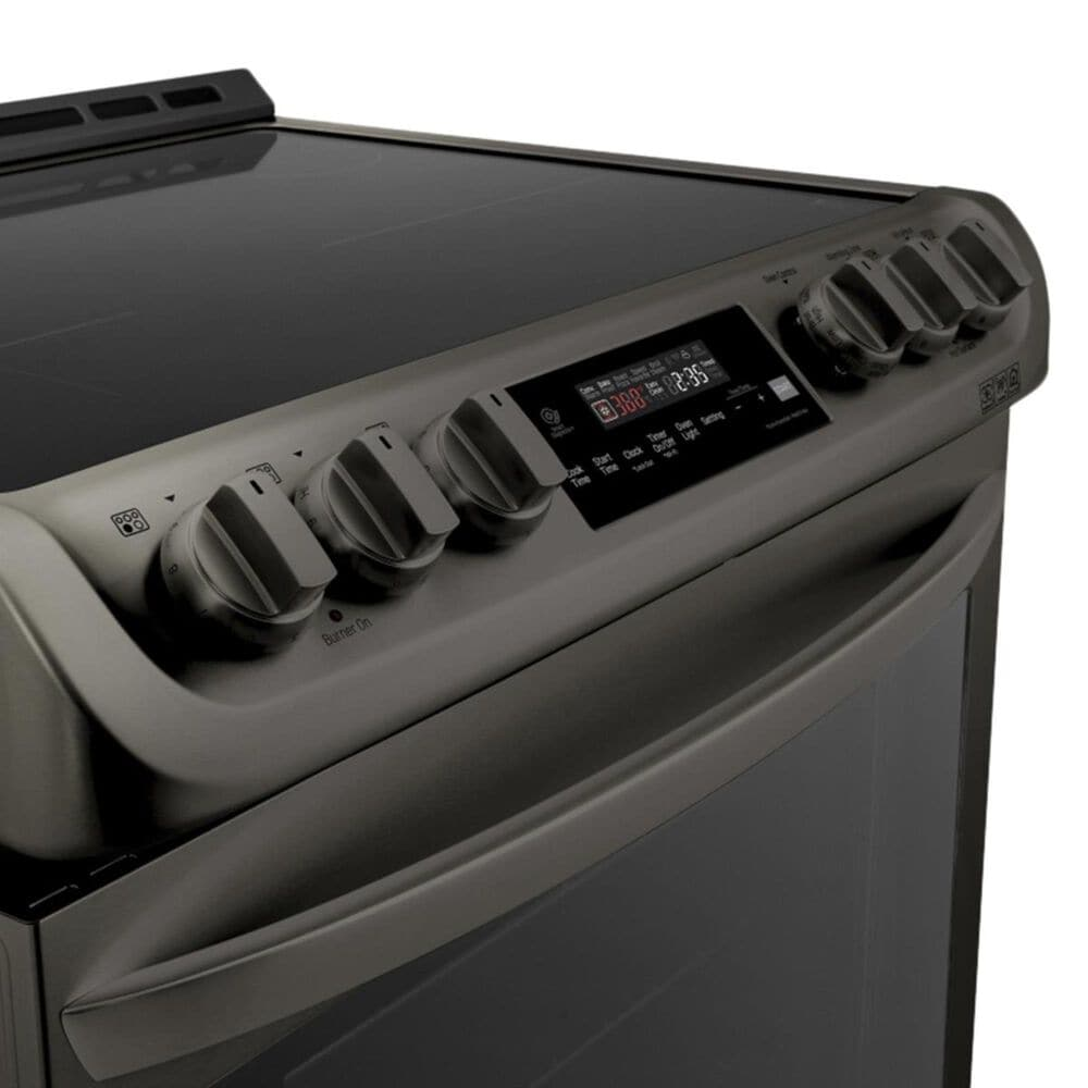 LG Induction Freestanding Electric Range in Black Stainless, , large