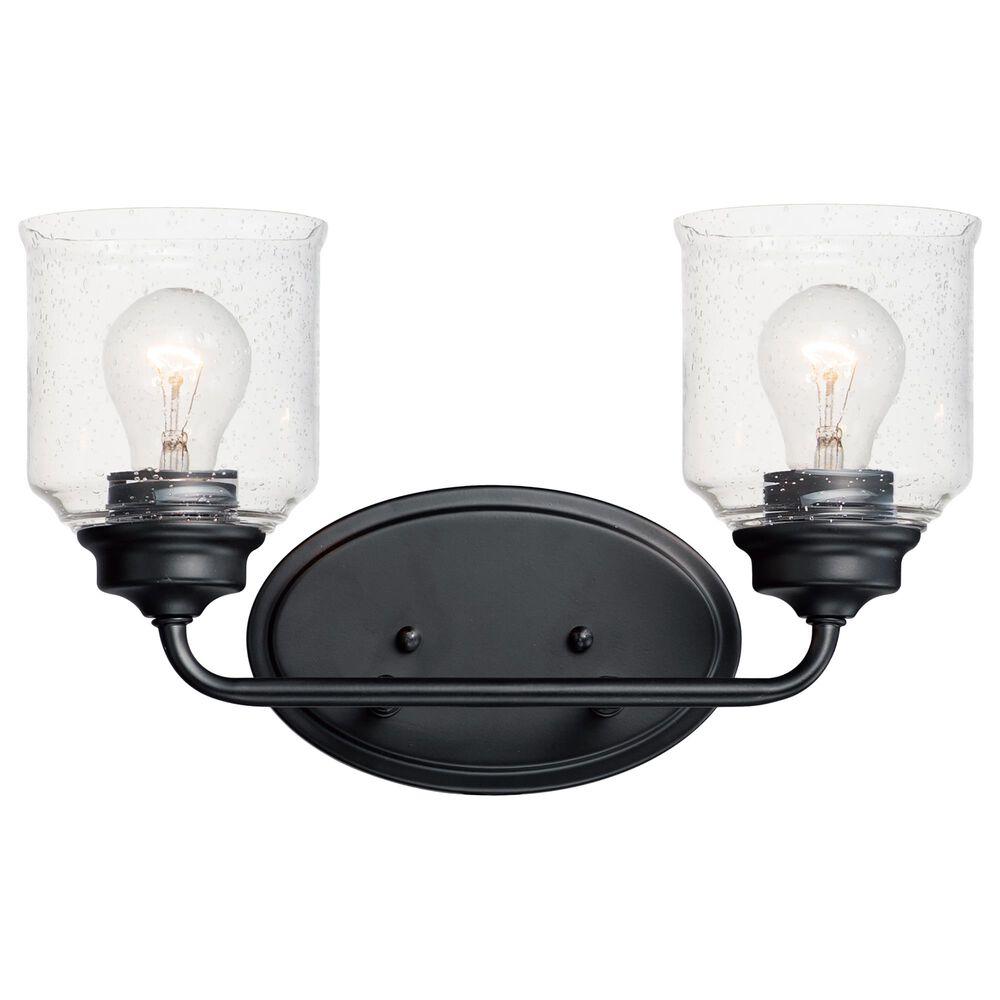 Maxim Lighting Acadia 2-Light Bath Vanity in Black, , large