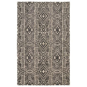 Feizy Rugs Colton 8627F 5' x 8' Slate Area Rug, , large