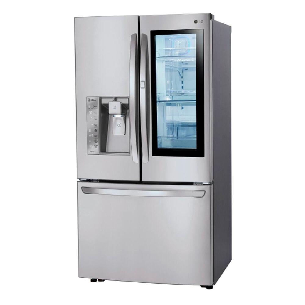 LG 24 Cu. Ft. InstaView Door-In-Door Counter-Depth Refrigerator in Stainless Steel, , large