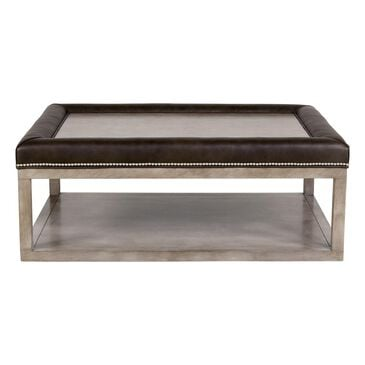 Century Redford Rectangular Ottoman Table in Robinson Leather, , large