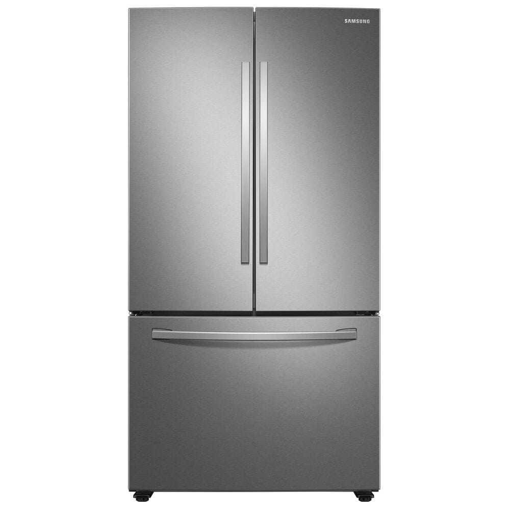 Samsung 28 Cu. Ft. Large Capacity 3-Door French Door Refrigerator with Internal Water Dispenser in Stainless Steel , , large