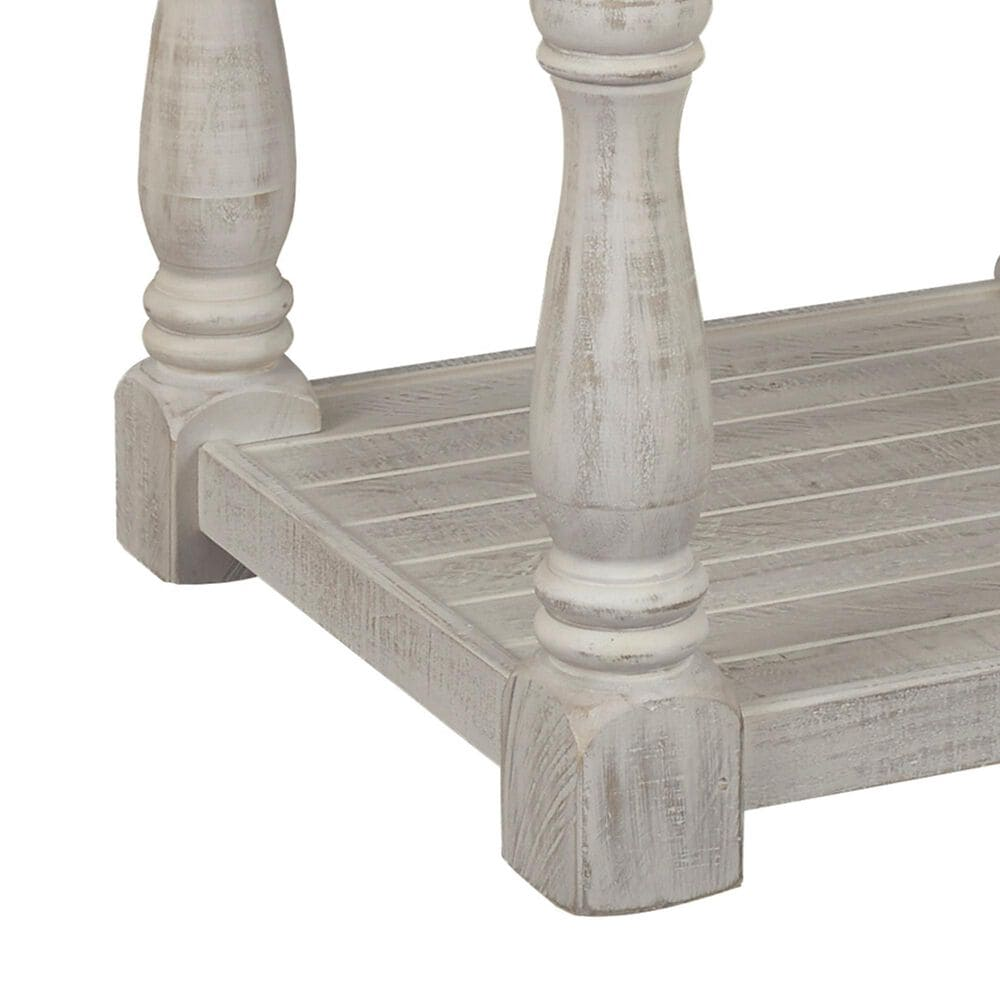 Signature Design by Ashley Havalance Rectangular End Table in Gray and White, , large