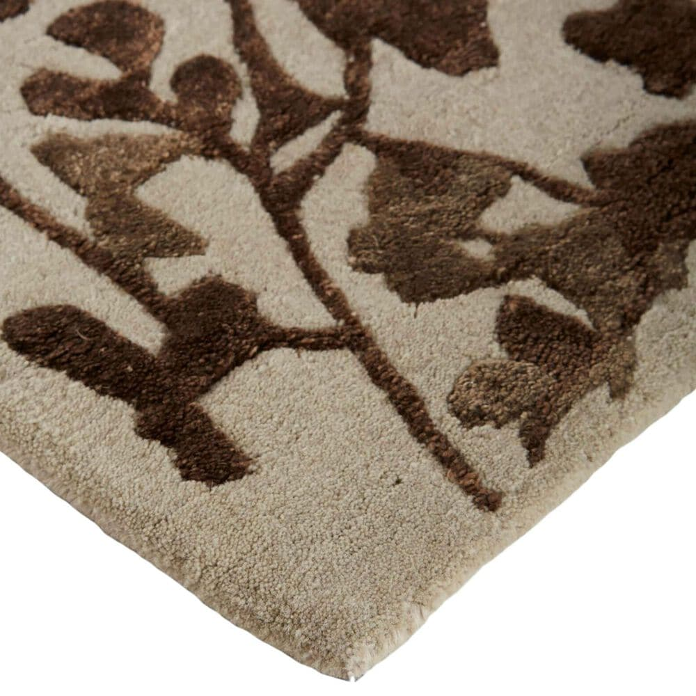 Feizy Rugs Bella 9' x 12' Beige and Brown Area Rug, , large
