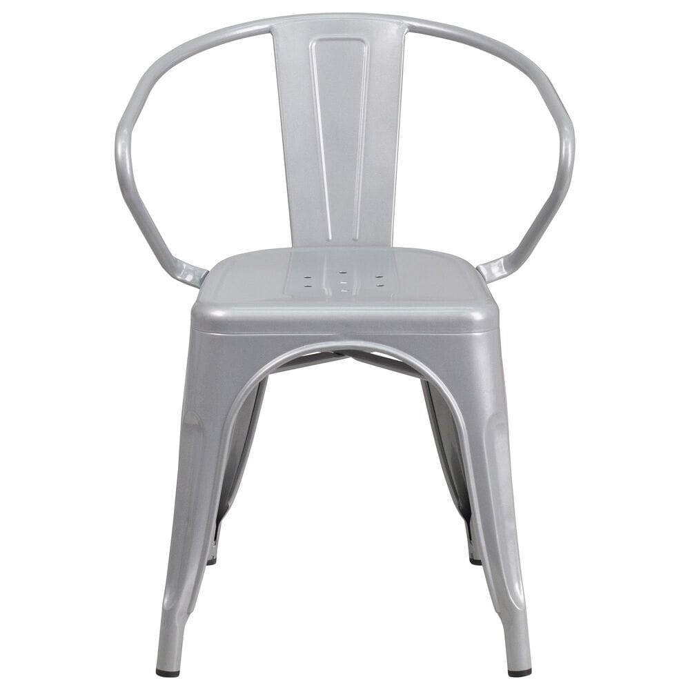 Flash Furniture Arm Chair in Gray, , large