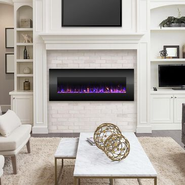 "Timberlake Northwest 54"" NO HEAT Electric Fireplace in Black, , large"