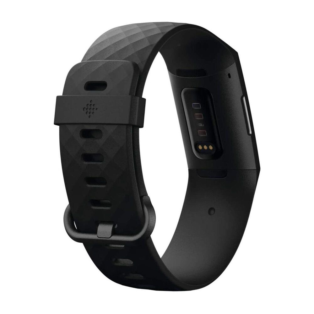 Fitbit Charge 4 Advanced Fitness Tracker in Black, , large