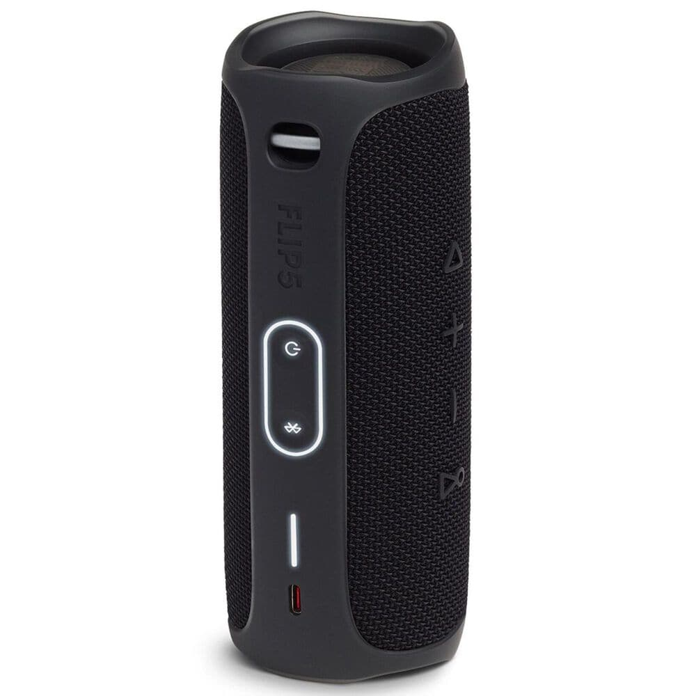 JBL Flip 5 Waterproof Portable Bluetooth Speaker in Midnight Black, , large