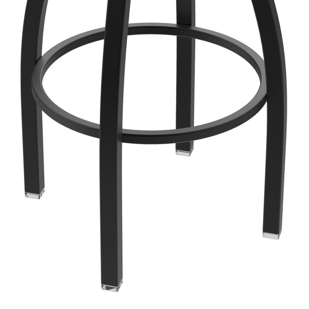 "Holland Bar Stool 802 Misha 25"" Swivel Counter Stool with Black Wrinkle and Medium Maple Seat, , large"