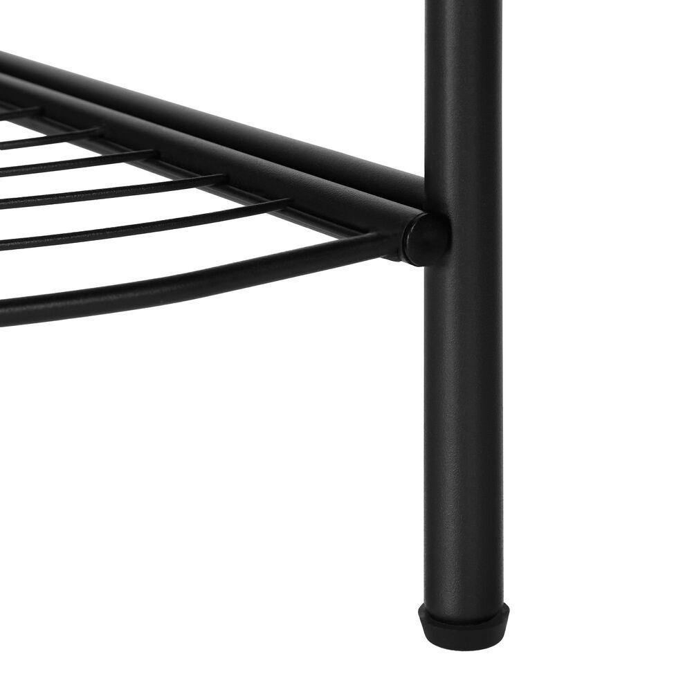 Monarch Specialties Contemporary Bookcase in Black, , large