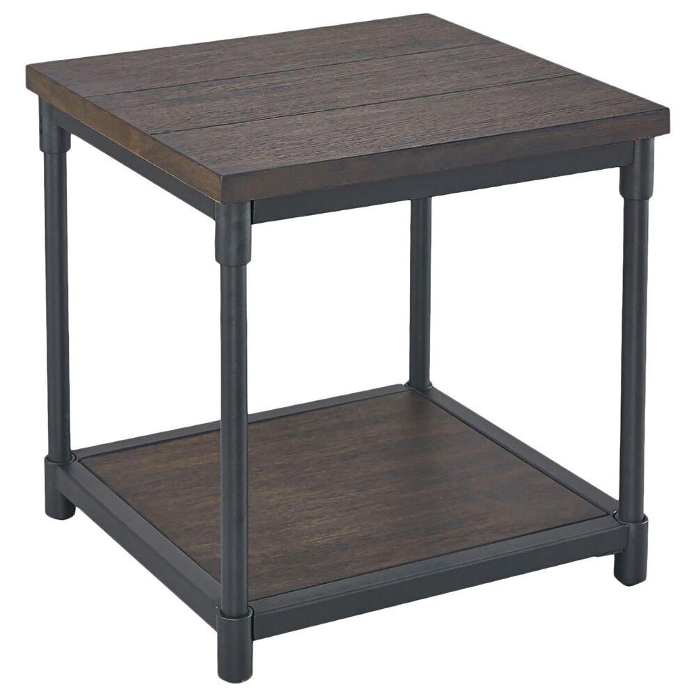 Steve Silver Prescott End table  in Oak with Smoky Oak Finish, , large