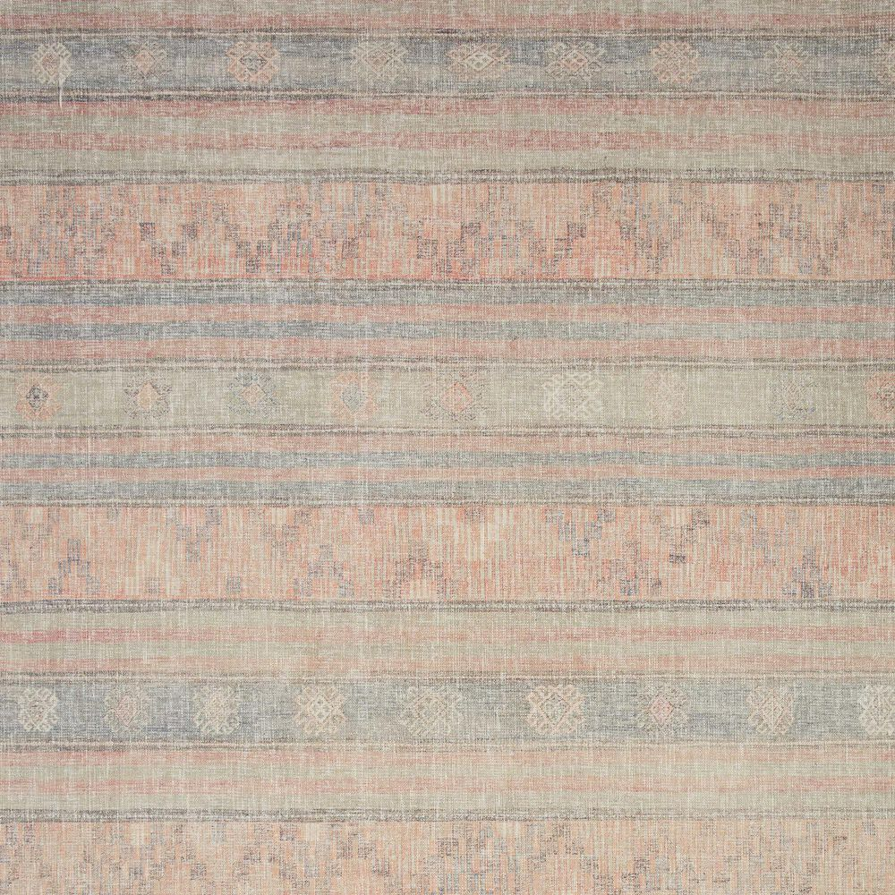 "ED Ellen DeGeneres Crafted by Loloi Alameda ALA-02 5' x 7'6"" Persimmon and Sky Area Rug, , large"