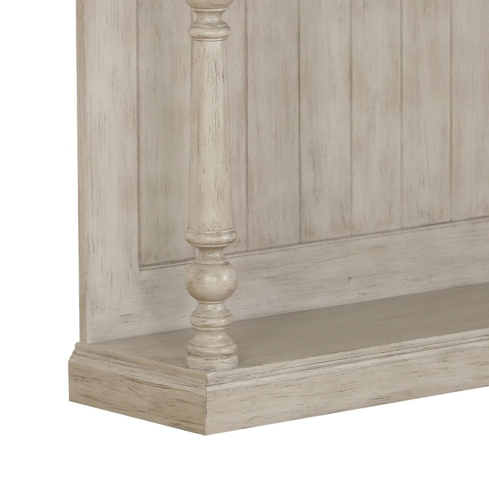 Accentric Approach 3-Drawer Console Table in Beige, , large
