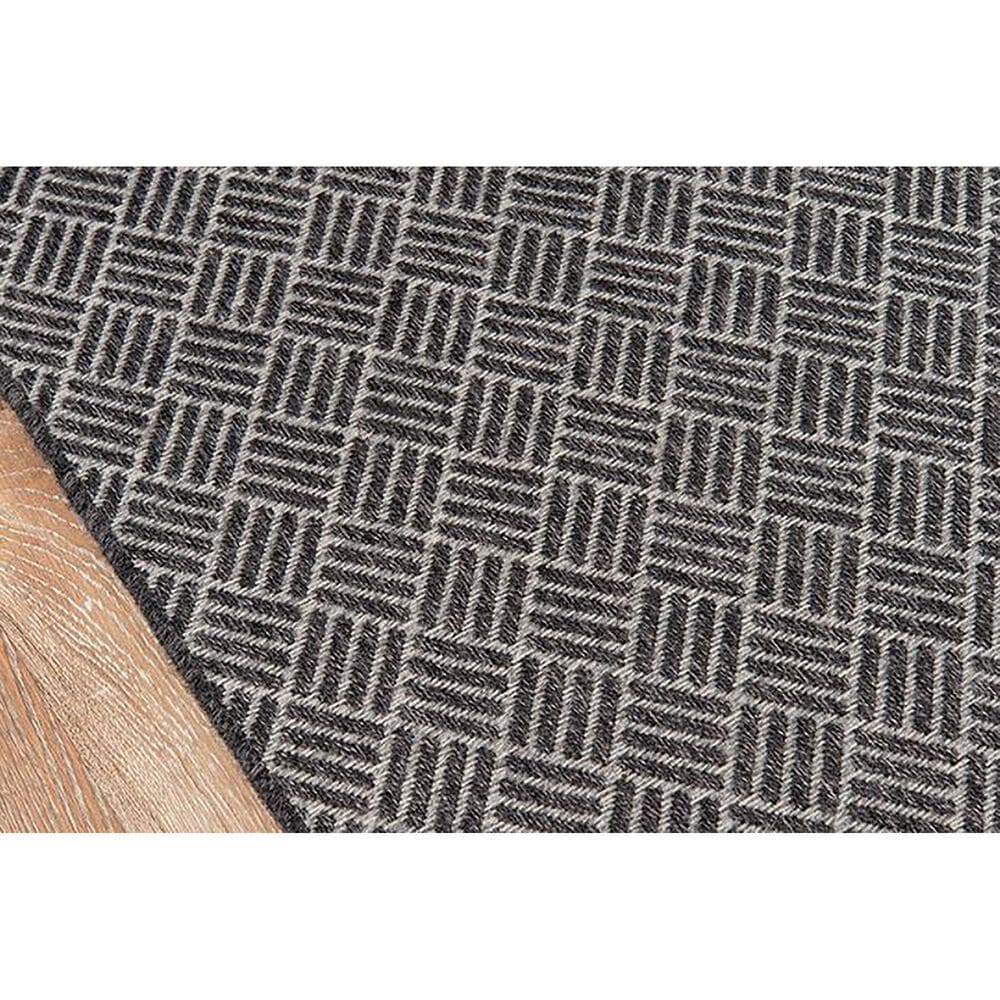 "Momeni Como 5' x 7'6"" Charcoal Indoor/Outdoor Area Rug, , large"