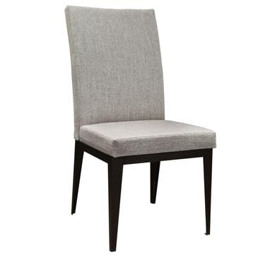 Amisco Leo Side Chair in Oxidado and Shiitake, , large