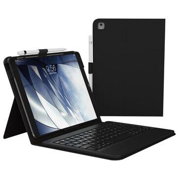 Zagg Messenger Folio Bluetooth Keyboard For Apple iPad 9.7 (2018 / 2017) / iPad Pro 9.7 / iPad Air 2 / iPad Air - Black, , large
