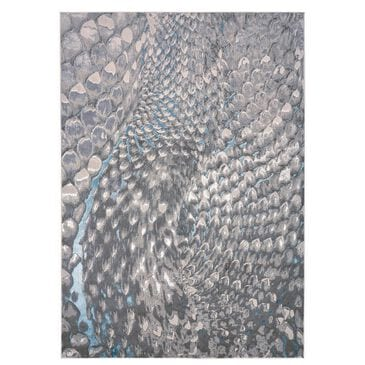 """Feizy Rugs Azure 3403F 10' x 13'2"""" Blue and Silver Area Rug, , large"""