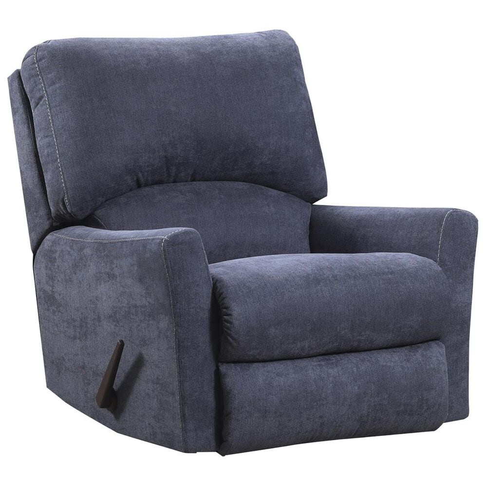 Simmons Upholstery Rocker Recliner in Pacific Steel Blue, , large