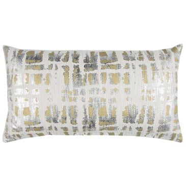 """Rizzy Home Donny Osmond 14"""" x 26"""" Pillow Cover in Gold and Silver, , large"""