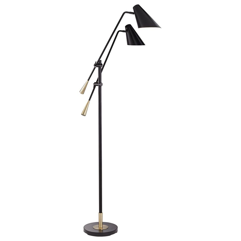 Pacific Coast Lighting Midas Floor Lamp in Black, , large