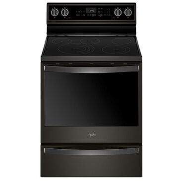 """Whirlpool 30"""" Free-Standing Electric Range in Black Stainless, , large"""