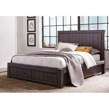 Urban Home Heath Queen Storage Bed in Basalt Gray, , large