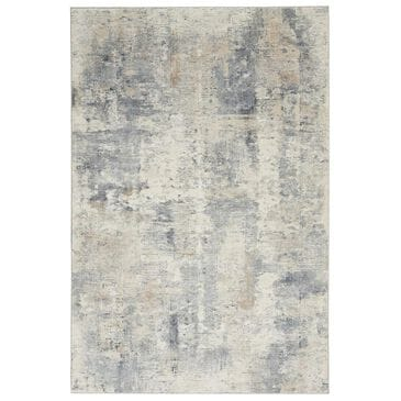 "Nourison Rustic Textures RUS05 2'2"" x 7'6"" Beige and Grey Runner, , large"
