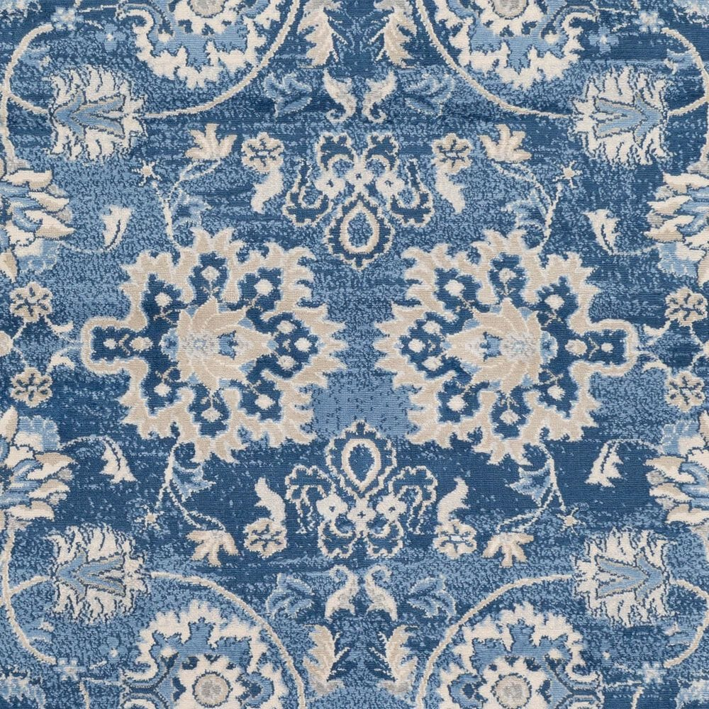 "Surya Monaco MOC-2307 6'9"" x 9'9"" Bright Blue, Khaki and Gray Area Rug, , large"