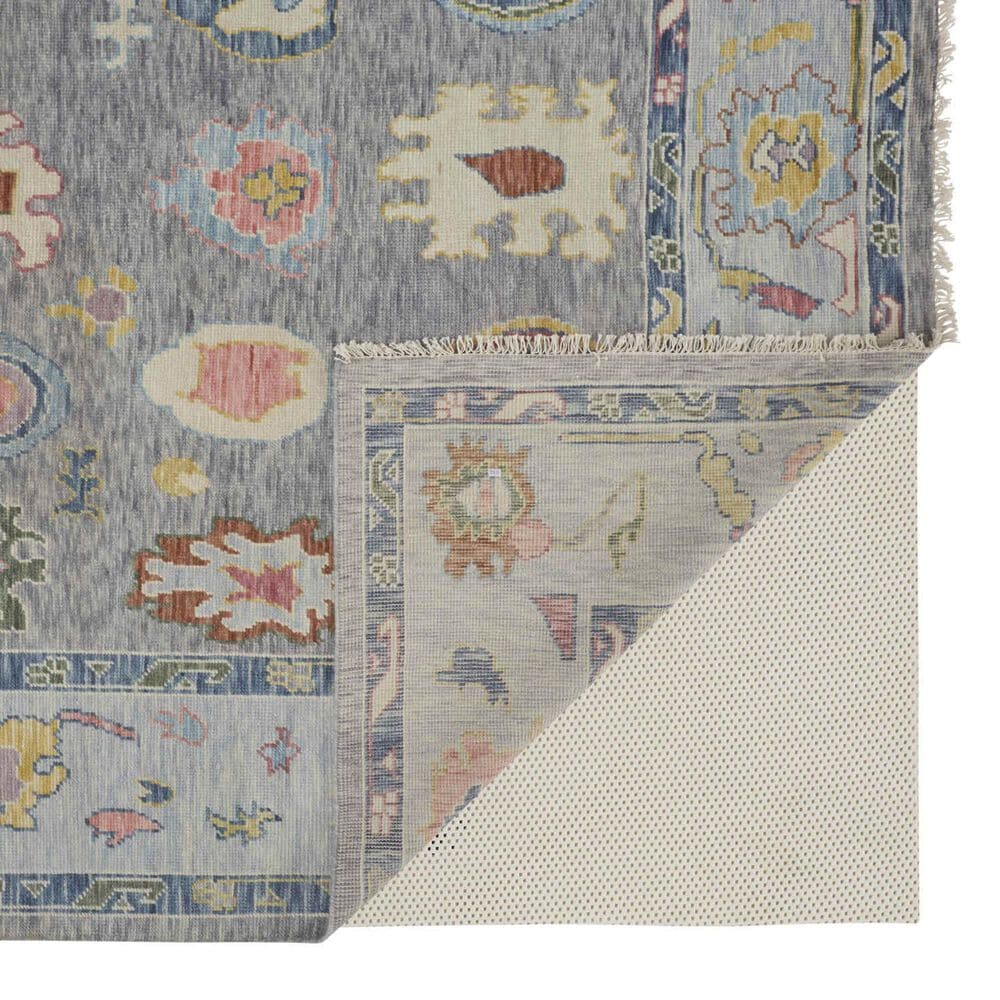 "Feizy Rugs Karina 2'6"" x 8' Gray Runner, , large"