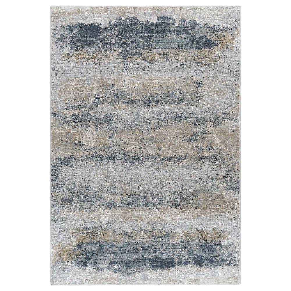 "Surya Brunswick 2"" x 3"" Sage, Gray, White and Blue Area Rug, , large"