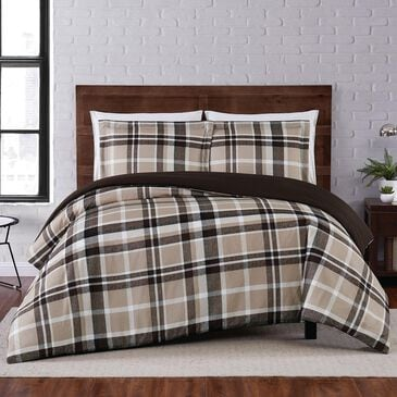 Pem America Truly Soft Paulette 3-Piece Full/Queen Duvet Set in Taupe, , large